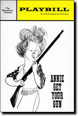 Annie Get Your Gun 1966 Playbill