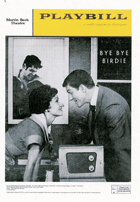 Bye Bye Birdie Original Playbill