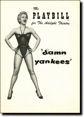 Damn Yankees Original Playbill