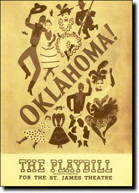 Oklahoma Original Playbill