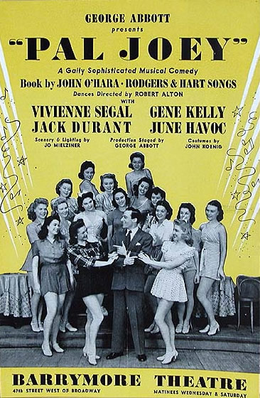 Pal Joey Original Playbill