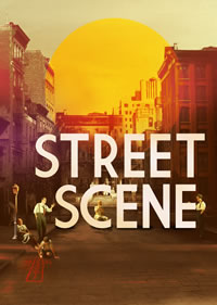 Street Scene - Poster