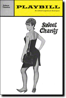 Sweet Charity Original Playbill