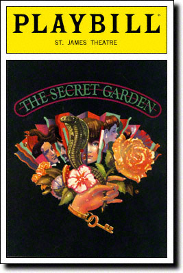 The Secret Garden Original Playbill