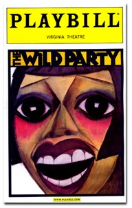 The Wild Party La Chiusa Original Playbill