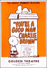 You're a Good Man Charlie Brown Original Poster