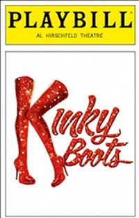 Kinky Boots Playbill