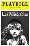 Les Mis First Broadway play bill