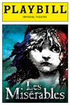 Les Mis Third Broadway Play Bill