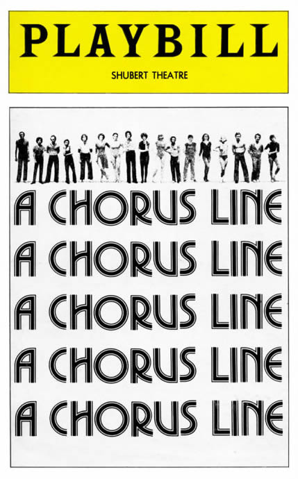 A-Chorus-Line_Playbill