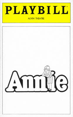 Annie_Playbill