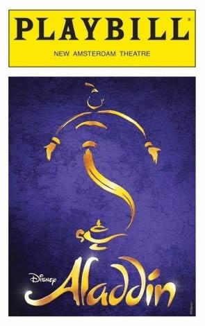 Aladdin_Playbill
