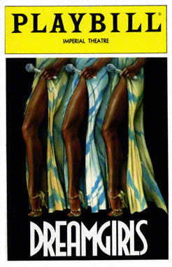 Dreamgirls_Playbill