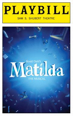 Matilda_Playbill