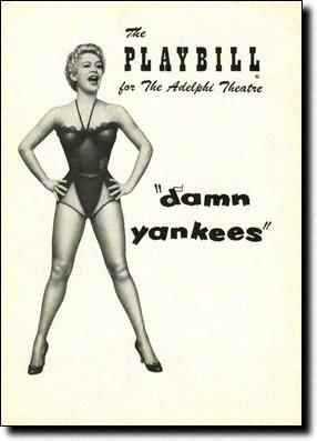 Damn Yankees Original Playbill