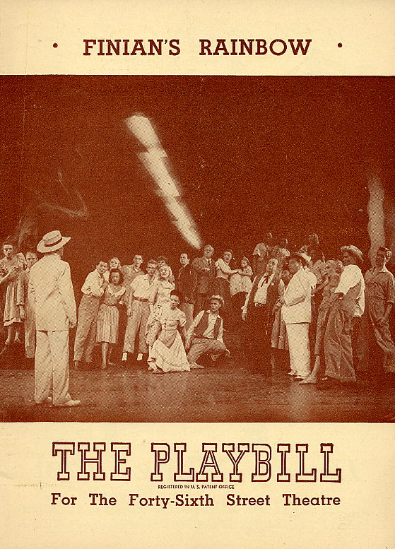 Finian's Rainbow Original Playbill