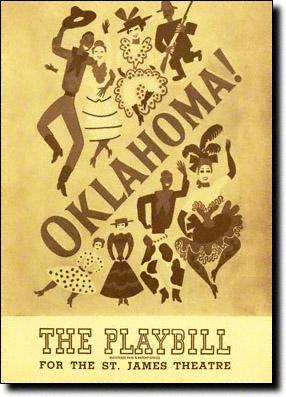 Oklahoma Original Playbill