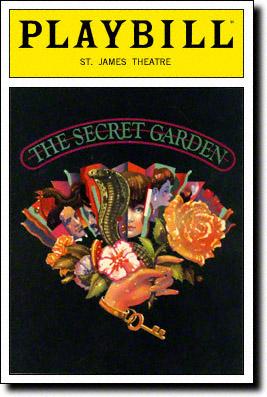 The Secret Garden Original Playbill