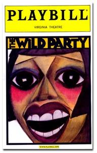 The Wild Party La Chiusa Original Playbill