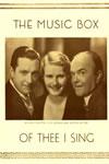 Of Thee I Sing Original Broadway