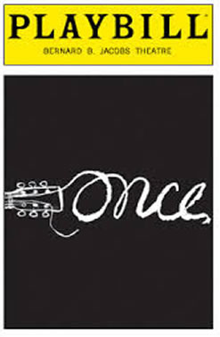 Once the Musical Playbill