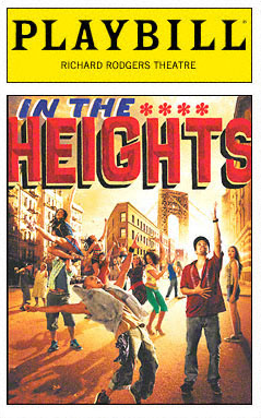 In the Heights Play Bill