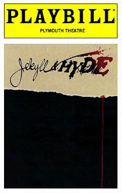 Dr Jekyll Playbill 1