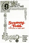 Sweeney Todd Original West End play Bill