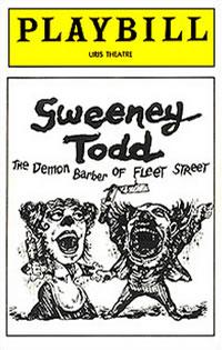 Sweeney Todd Play Bill 1