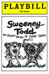 Sweeney Todd original Play bill