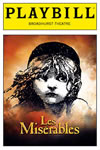 Les Mis second Broadway Play Bill